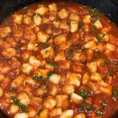 Potato Gnocchi with Rice Flour